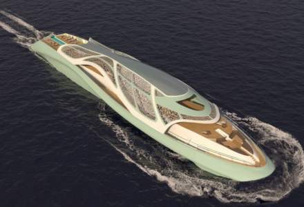 Carapace, iahtul de lux care se transforma intr-un submarin, inspirat parca direct din filmele cu James Bond