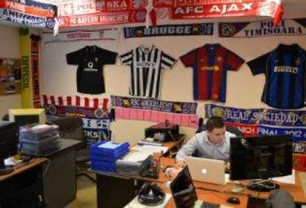 Rock si fotbal: sediul nonconformist al agentiei de advertising Infinit Solutions