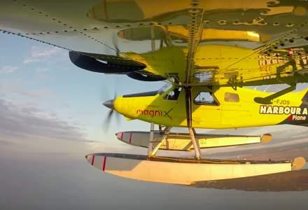 Primul avion electric comercial a finalizat zborul de testare