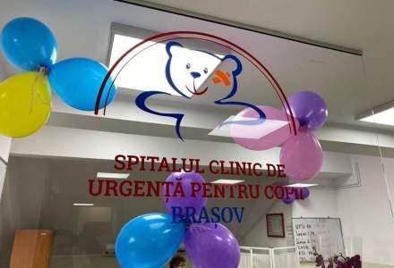 FOTO Policlinica Spitalului de Copii din Brasov, reparata cu fonduri de la Consiliul Judetean in valoare de peste 500.000 de lei