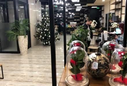 FlorideLux.ro a deschis cea mai mare florarie din Romania, in urma unei investitii de 90.000 euro