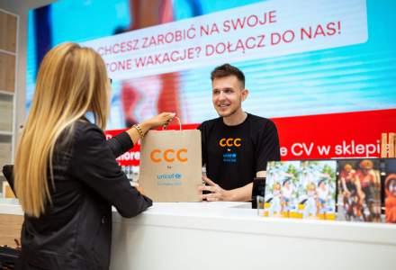 Retailerul de incaltaminte CCC renunta la pungile de plastic si introduce ambalaje din hartie reciclabila
