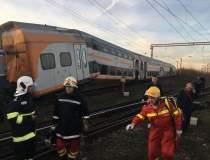 UPDATE Accident feroviar in...