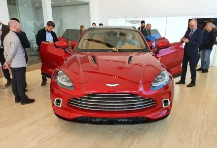 Aston Martin DBX, primul SUV din istoria brandului, a fost prezentat la Bucuresti