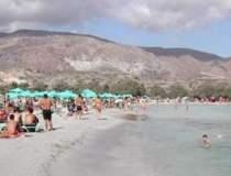 Turistii au liber la bikini...