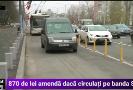Banda unica pentru transportul in comun de pe Bd. Iuliu Maniu a fost inaugurata oficial