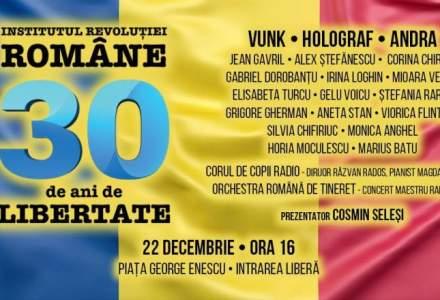 """Concertul de 100.000 euro organizat de Institutul Revolutiei Romane a fost anulat. Organizatiile civice: """"Jignire adusa memoriei eroilor"""""""