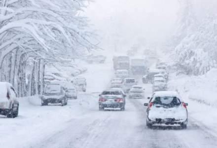 Sapte drumuri judetene vor fi inchise pe toata durata sezonului de iarna pentru siguranta participantilor la trafic