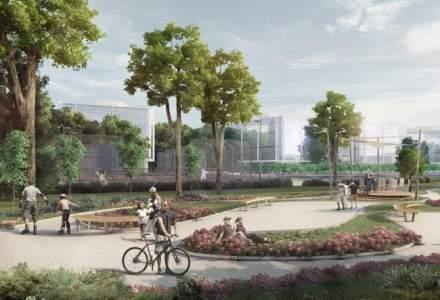 Incepe transformarea fabricii Libertatea din Cluj: De la epava industriala la parc tehnologic cu piste de bicicleta si chiar un lac de 700 mp