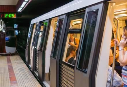 Metrorex: Trenurile de metrou vor circula, de Craciun si Revelion, conform graficelor pentru zilele de weekend si sarbatori legale