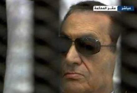 Hosni Mubarak a fost adus la un tribunal din Cairo, pentru un nou proces