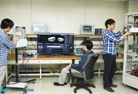 Samsung testeaza deja viteza retelelor 5G, care este de peste 10 ori mai mare decat la cele 4G