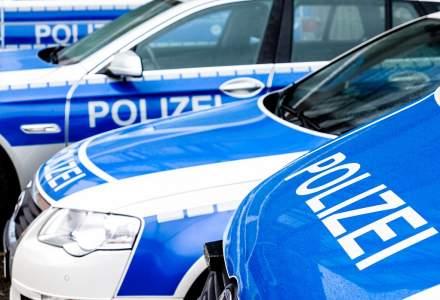Sofer roman de TIR, prins de politistii germani in timp ce fura curent electric de la un felinar stradal