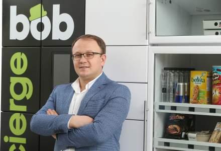 Bob Concierge, proiectul romanesc care aduce in scarile de bloc un automat cu alimente, bauturi si servicii de curatenie