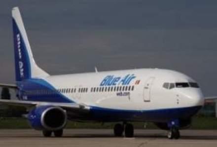 O firma fara licenta de zbor in Romania a facut cea mai mare oferta pentru Blue Air