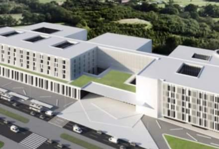 A fost lansata licitatia pentru proiectarea Spitalului regional din Cluj. Peste 800 de paturi pentru pacientii din Vest