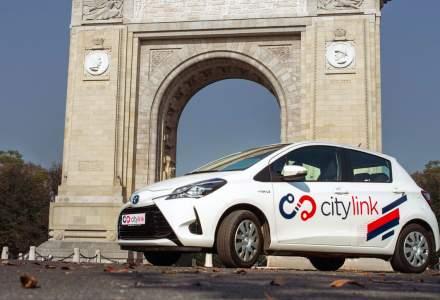 Citylink, un nou serviciu de transport cu masini hibride