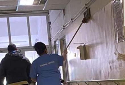 """""""Mopuri jegoase care manjesc peretii la spitalul Bagdasar Arseni"""": cum arata imaginile prezentate de un deputat USR"""