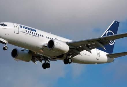 Trei aeronave Tarom cu destinatia Bucuresti au fost redirectionate catre Iasi