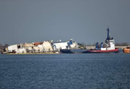 A fost semnat contractul pentru scoaterea oilor Portul Midia si ranfluarea navei Queen Hind