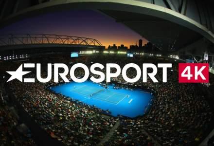 Vodafone, sponsorul transmisiunilor turneelor de tenis din 2020 difuzate de Eurosport