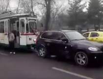 VIDEO: Inca un BMW a blocat...