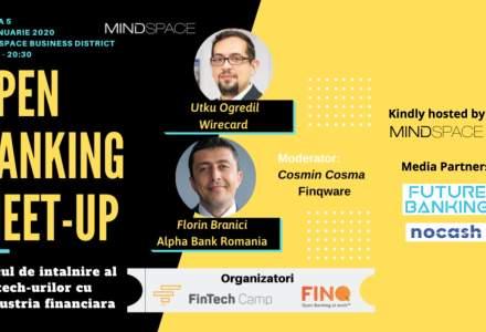 Open Banking Meet-up #5: Finqware si FinTech Camp dau startul evenimentelor dedicate implementarii PSD2 in Romania