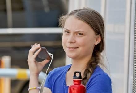 Greta Thunberg protesteaza alaturi de mii de alti tineri la Lausanne impotriva schimbarilor climatice