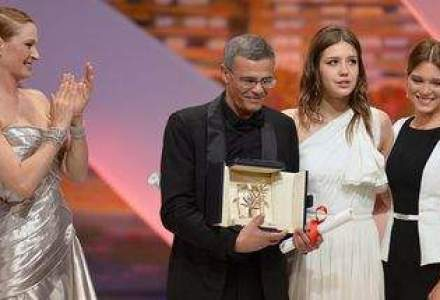 """Marele trofeu Palme d'Or, pentru """"La vie d'Adele"""", un film despre minoritatile sexuale"""