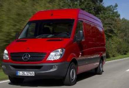 Mercedes vine cu un pachet financiar pentru Sprinter, inaintea lansarii noului model
