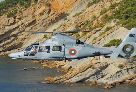 Airbus Romania va intretine trei elicoptere ale armatei bulgare