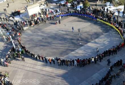 Ziua Unirii, sarbatorita in doua locuri diferite in Focsani, pentru ca autoritatile nu s-au inteles