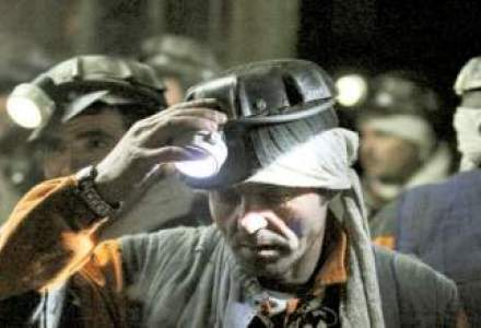 Aproximativ 4.000 de mineri protesteaza la Targu Jiu, cerand demisia conducerii CE Oltenia