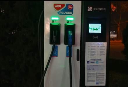 Benzinariile MOL au introdus luna aceasta plata pentru masini electrice