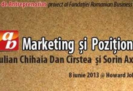 Vrei sa inveti despre marketing si pozitionare? Vino la ateliererele de antreprenoriat ale Fundatiei Romanian Business Leaders