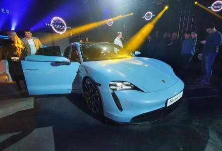 Porsche Taycan a fost prezentat la Bucuresti. Accelereaza pana la 100 de km/h in 2,8 secunde