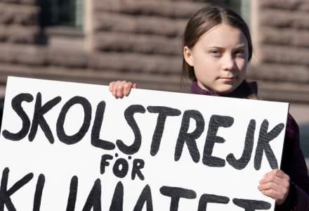 Greta Thunberg si-a inregistrat numele si miscarea sa pentru clima ca marci comerciale