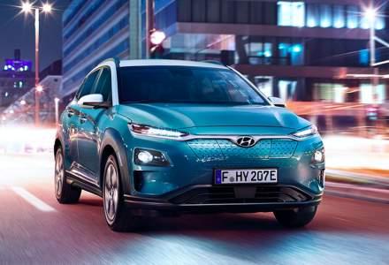 Hyundai Kona Electric este disponibil in Romania