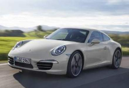 O editie limitata Porsche 911, in Romania din septembrie