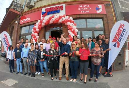 Jerry's Pizza a deschis patru noi unitati, dupa o investitie de 600.000 de euro