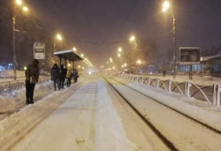 Prima zapada din Bucuresti: Sase tramvaie sunt blocate in Capitala; tramvaiul 41 nu circula dinspre Piata Presei