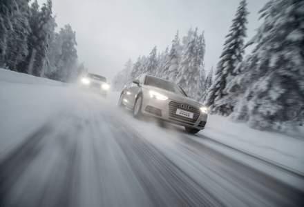 Aproximativ jumatate dintre soferii europeni se tem de viteza iarna - sondaj Nokian