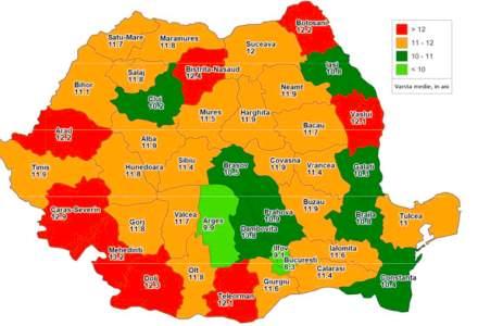 Harta masinilor vechi din Romania. In ce judete sunt cele mai multe rable