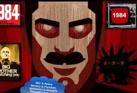 """Efectul Big Brother din SUA: vanzarile cartii """"1984"""", de George Orwell, au explodat pe Internet"""