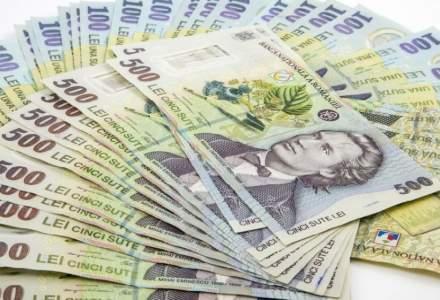 Ministerul de Finante a imprumutat 1,26 miliarde de lei de la banci astazi