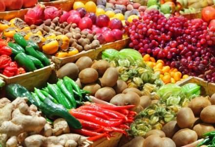 Legumele, fructele si carnea de porc s-au scumpit cel mai mult in ianuarie