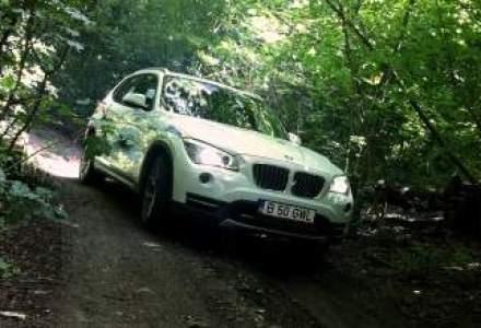 """Test Drive Wall-Street: BMW X1, un """"animal de oras"""" pentru managerii cu spirit de aventura"""