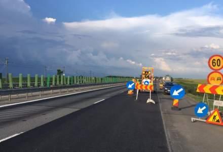 Autostrada Soarelui intra in reparatie; sectorul cu dale de beton de pe A2 va fi frezat si refacut