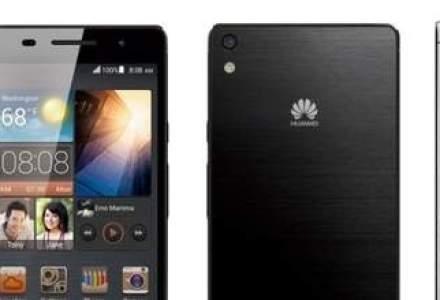 Huawei ataca piata de smartphone-uri premium dupa lansarea celui mai subtire model de pe piata
