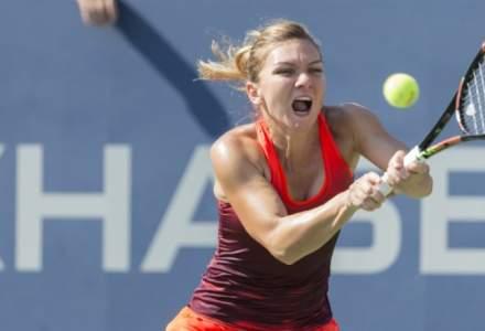 Simona Halep a învins-o pe tunisianca Ons Jabeur în optimile de la Dubai